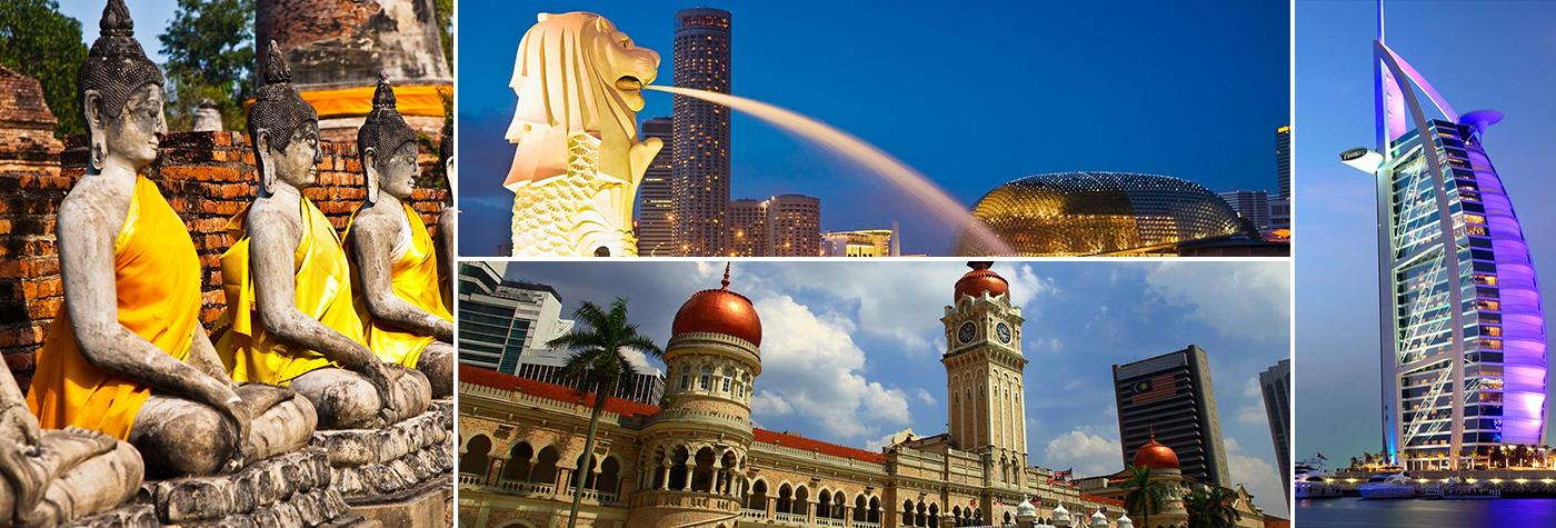 International Tour: Thailand, Singapore, Dubai, Malaysia